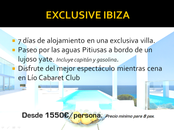 exclusive ibiza